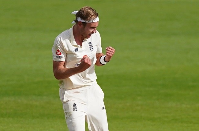 News24.com | Broad boosts England's victory bid in second West Indies Test
