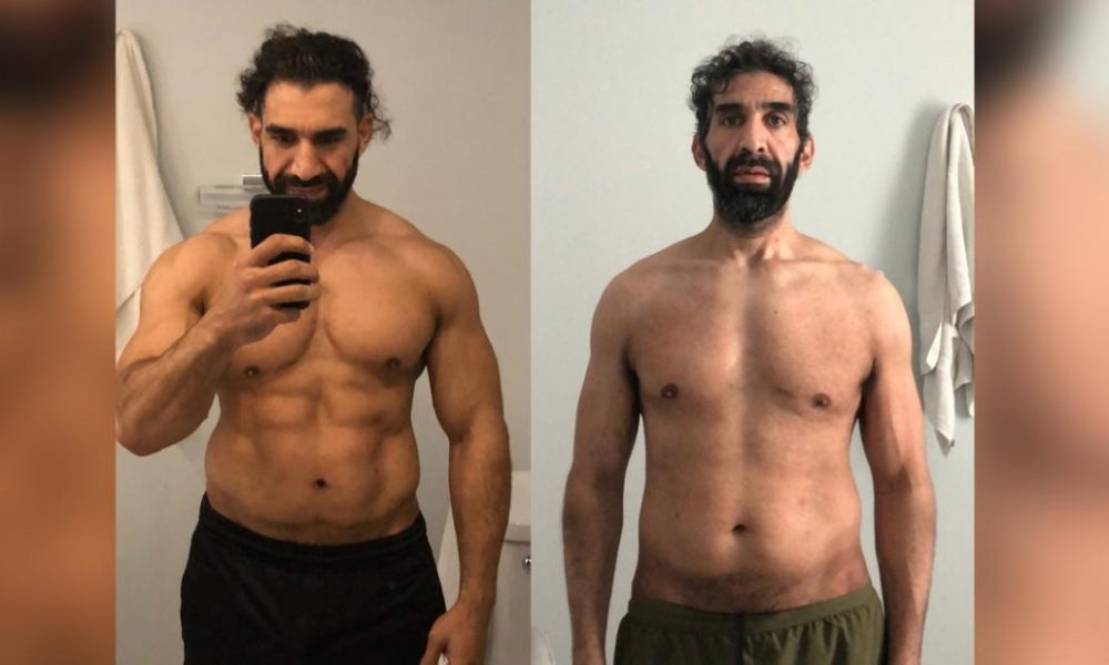 Losing weight  fat loss  keeping fit He was an athlete in the best shape of his life. Then Covid-19 nearly killed him