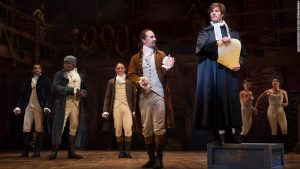 Losing weight What one of the few White 'Hamilton' cast members learned about race