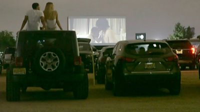 Why this black drive-in cinema is booming