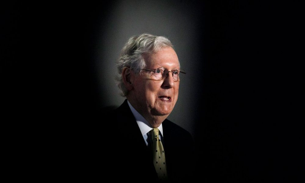 McConnell Faces Risks in Advancing a Trump Supreme Court Replacement for Ginsburg