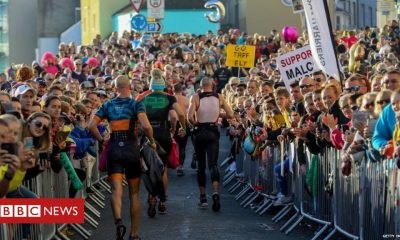 Coronavirus: Cancelled Tenby Ironman visitors spark safety fears