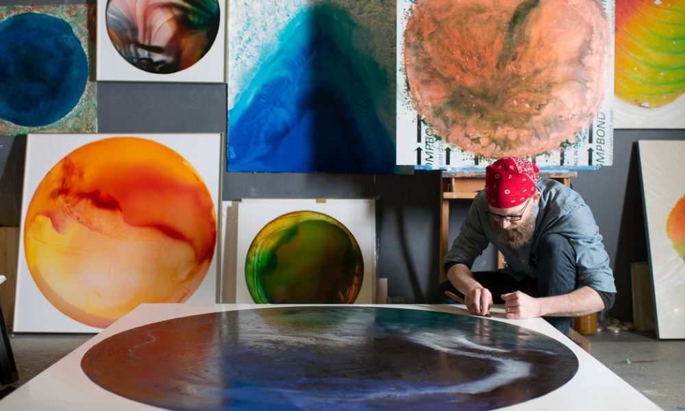 An Ohio Artist and Activist is Turning Acid Mine Pollution Into Paint