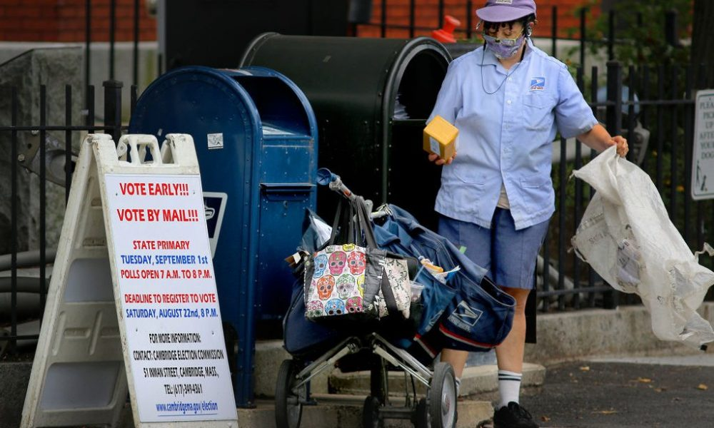 The Postmaster General Says Ballots Will Arrive On Time. Postal Workers Aren't So Sure